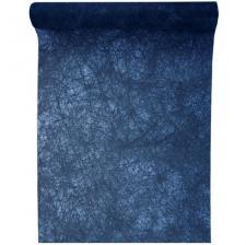 Chemin de table fanon bleu marine (x1) REF/3586