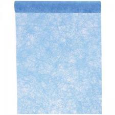 Chemin de table fanon bleu turquoise (x1) REF/3586