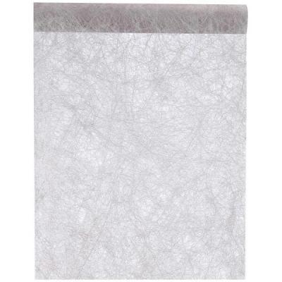 Chemin de table fanon gris (x1) REF/3586