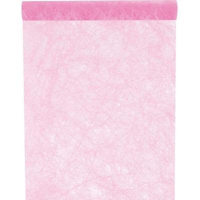 Chemin de table fanon rose (x1) REF/3586