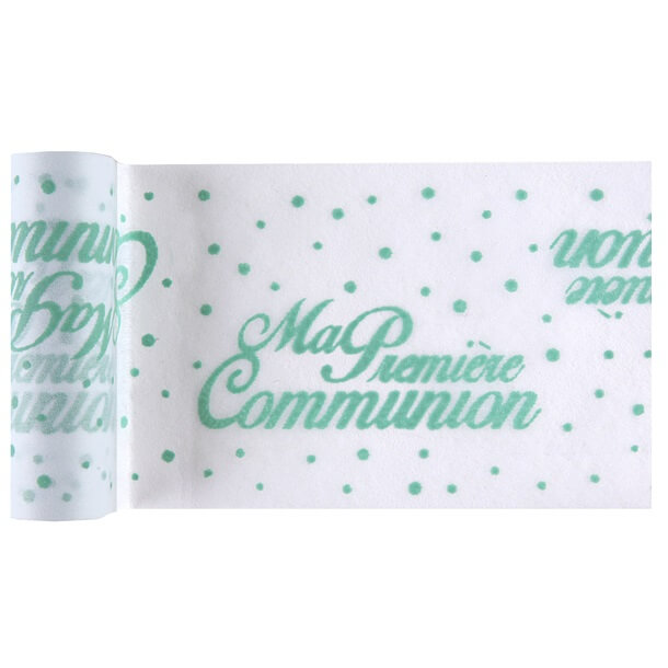 Chemin de table communion mint