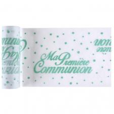 Chemin de table communion mint 15cm x 5m (x1) REF/6418