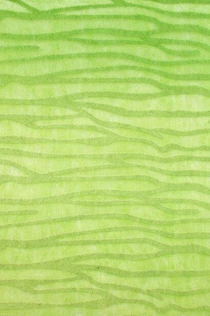 Chemin de table ecorce vert