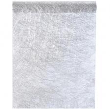 Chemin de table fanon argent 30cm x 25m (x1) REF/4755
