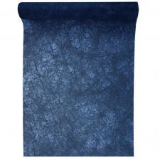 Chemin de table fanon bleu marine 30cm x 25m (x1) REF/4754