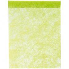 Chemin de table fanon vert 30cm x 25m (x1) REF/4754