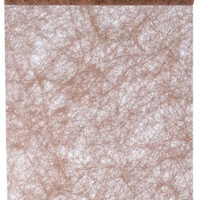 Chemin de table fanon chocolat (x1) REF/3586