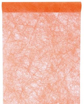 Chemin de table fanon orange