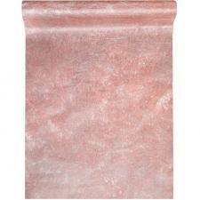Chemin de table fanon rose gold 30cm x 25m (x1) REF/4755