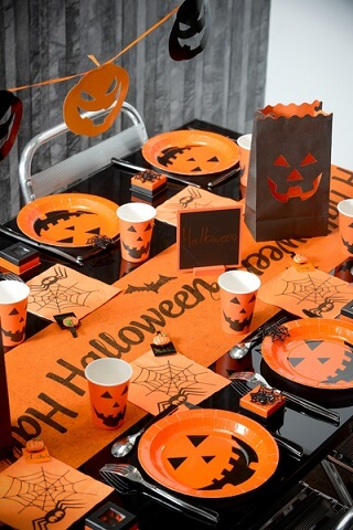 Chemin de table halloween 1