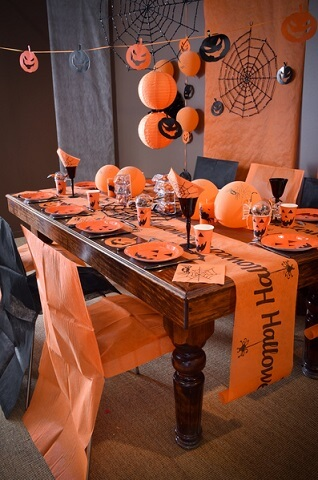 Chemin de table halloween 3