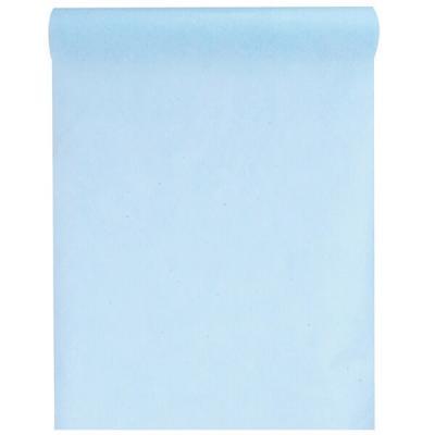 Chemin de table bleu ciel 30cm x 10m (x1) REF/2810