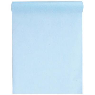 Chemin de table bleu ciel 30cm x 25m (x1) REF/5696