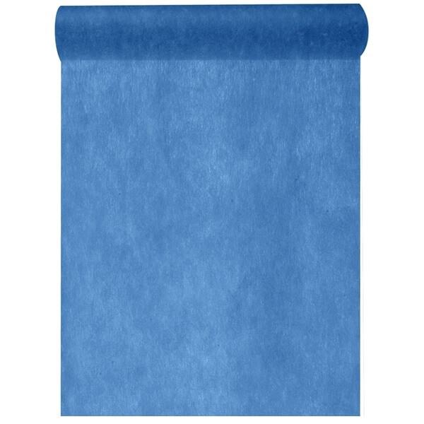 Chemin de table in tisse bleu marine 25m