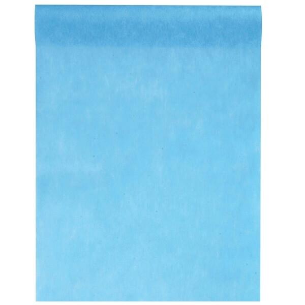 chemin de table 30cm bleu turquoise x1 ref 2810