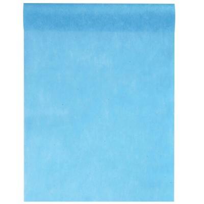 Chemin de table bleu turquoise 30cm x 25m (x1) REF/5696