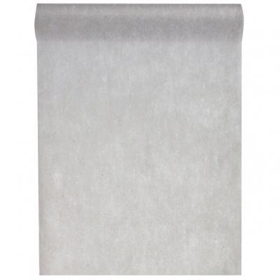 Chemin de table gris 30cm x 10m (x1) REF/2810