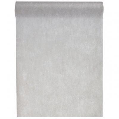 Chemin de table gris 30cm x 25m (x1) REF/5696