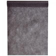 Chemin de table noir 30cm x 10m (x1) REF/2810