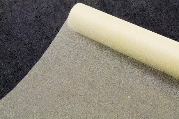 Chemin de table ivoire organza brillant