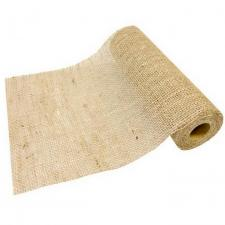 Chemin de table jute naturel avec tissage large (x1) REF/CH578