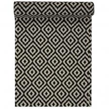 Chemin de table Losange noir 28cm x 3m (x1) REF/5978