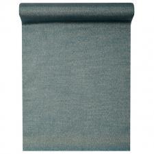 Chemin de table Lurex bleu 28cm x 3m (x1) REF/5918