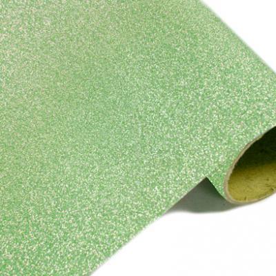 Chemin de table métal pailleté vert menthe (x1) REF/CH500