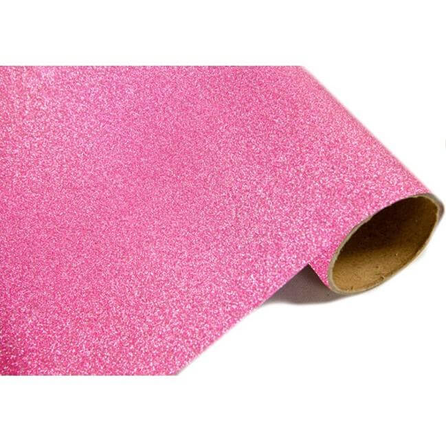 Chemin de table metallique paillete fuchsia