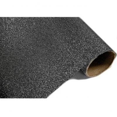 Chemin de table métal pailleté noir (x1) REF/CH500