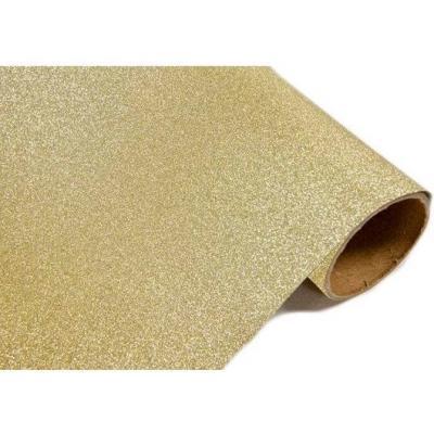 Chemin de table métal pailleté or (x1) REF/CH500
