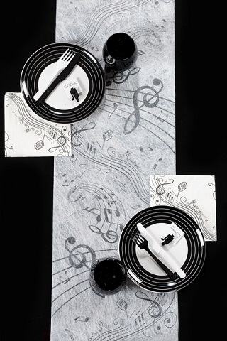 Chemin de table musique 5