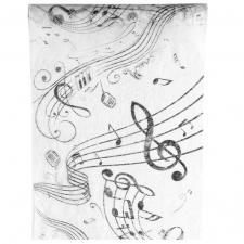 Chemin de table musique 30cm x 5m (x1) REF/70090