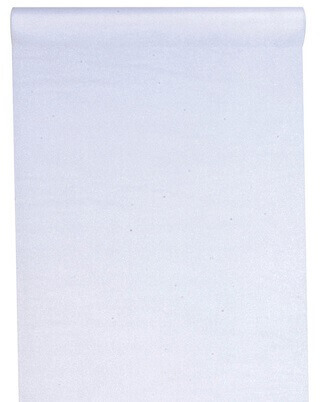 Chemin de table organdi blanc