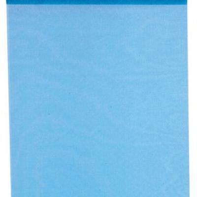 Chemin de table organdi bleu turquoise (x1) REF/2934
