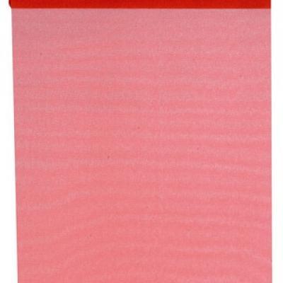Chemin de table organdi rouge (x1) REF/2934