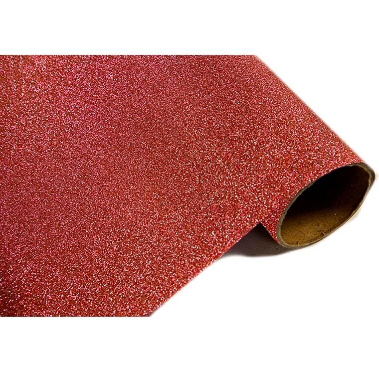 Chemin de table paillete rouge 1