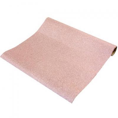 Chemin de table métal pailleté rose gold (x1) REF/CH500