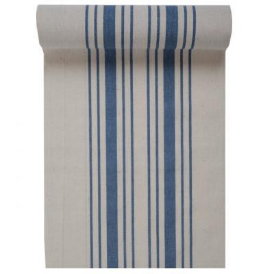 Chemin de table tradition bleu 28cm x 3m (x1) REF/5706