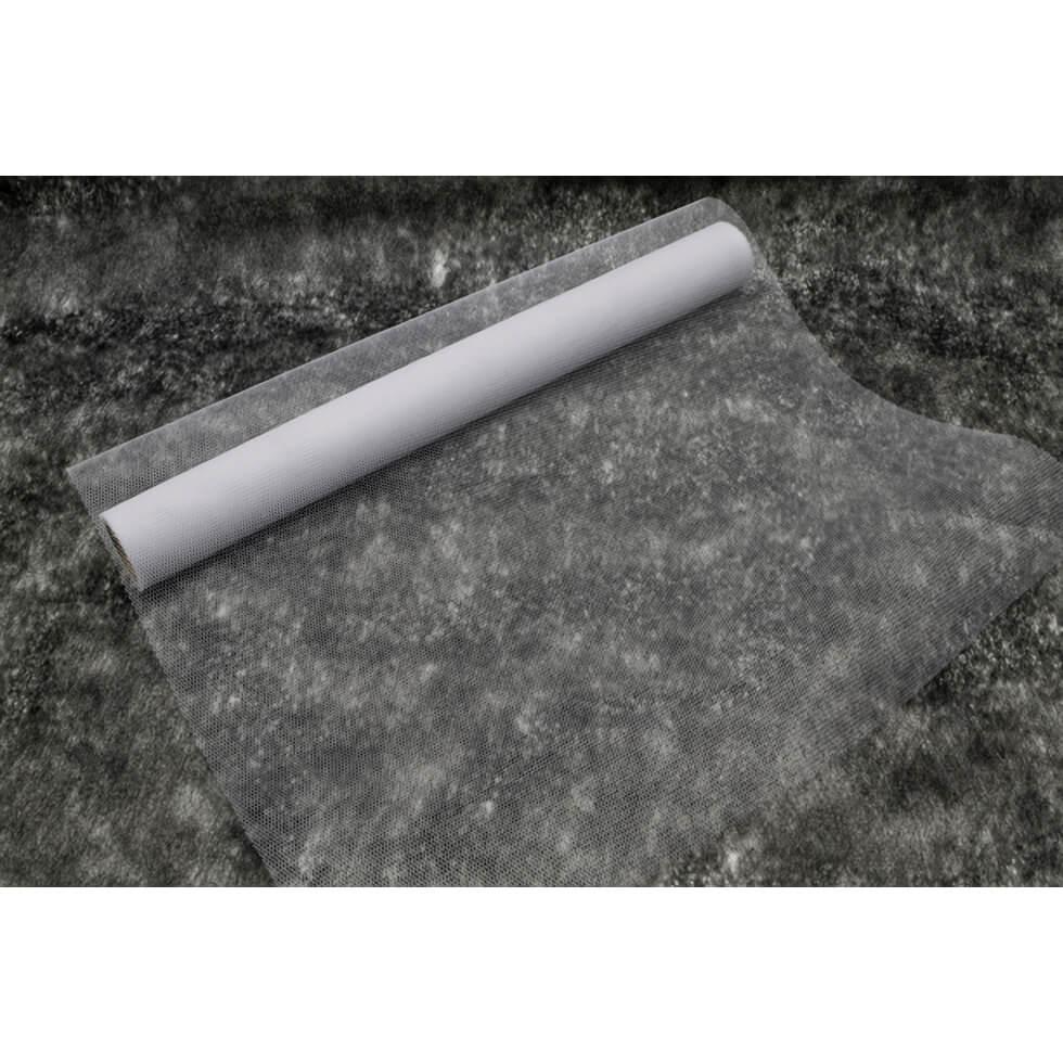Chemin de table tulle blanc de 50cm