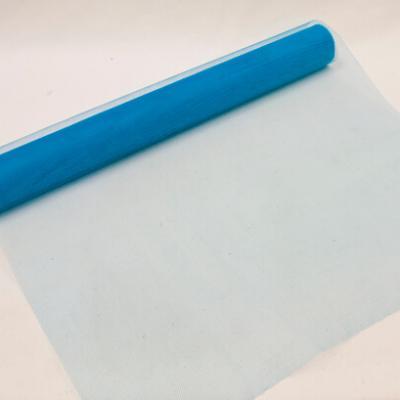 Chemin de table tulle bleu turquoise, 50cm (x1) REF/TUN205