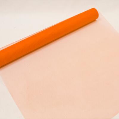 Chemin de table tulle orange, 50cm (x1) REF/TUN205
