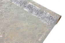 Chemin de table velours gris et argent (x1) REF/CH503