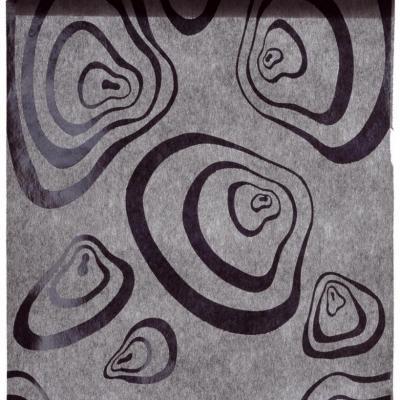 Chemin de table zebra noir (x1) REF/3408