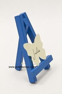 Chevalet bleu turquoise (x1) REF/DEC378