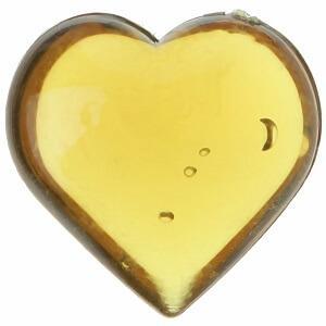 Coeur chocolat translucide (x12) REF/3853