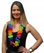 Collier de fleur multicolore (x1) REF/FUC106