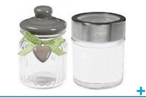 Confection de dragee avec contenant en verre
