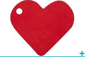 Confection de dragees avec etiquette mariage et st valentin