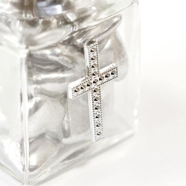 Confection de dragees communion avec croix argentee
